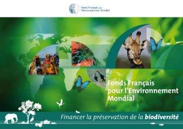 Protection et préservation de la biodiversité - FFEM