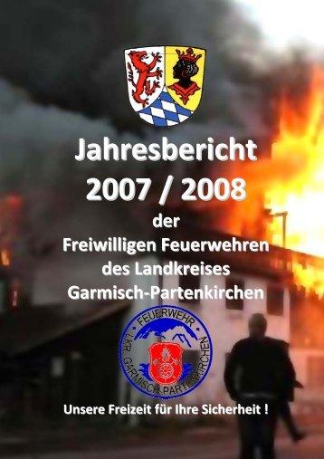 Jahresbericht 2007 / 2008 - Feuerwehren des Landkreises ...