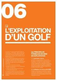 Gestion des golfs - Fédération Française de Golf