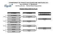 championnat de france par equipes mid amateurs 2013 phase finale ...