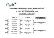 championnat de france par equipes mid-amateurs 2013 phase ...