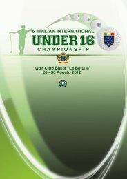 Italian International Individual Championship Under 16