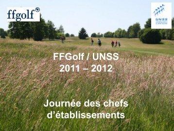Réflexions sur le développement à la FFGolf