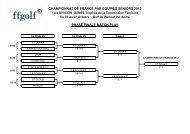 championnat de france par equipes seniors 2012 phase finale ...