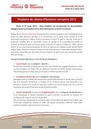 Téléchargez le communiqué de presse du 27 mars - Fédération ...