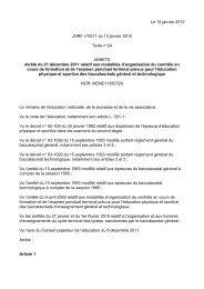 Arrêté du 21 décembre 2011 - Fédération Française de Golf