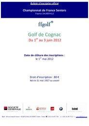 le 1 - Fédération Française de Golf
