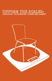 WEIGHING THE BARIATRIC FURNITURE MARKET - Franklin ...