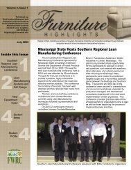 Mississippi State Hosts Southern Regional Lean - Franklin Furniture ...