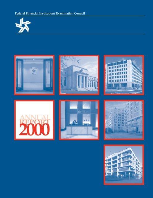 FFIEC Annual Report 2000