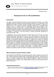 Background note on LGD quantification - ffiec