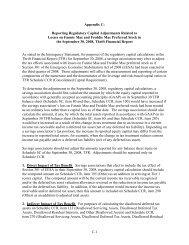 Appendix C: Reporting Regulatory Capital Adjustments in ... - ffiec