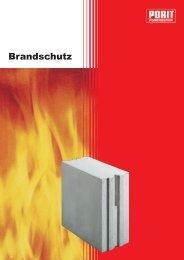 Brandschutz - Porit