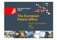 The European Patent Office - FFII.se