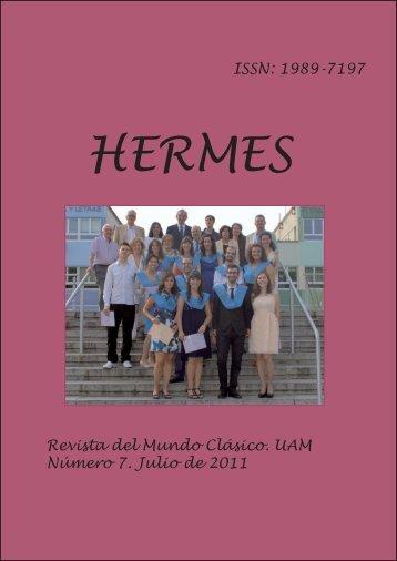 Hermes nº 7 - Facultad de Filosofía y Letras - Universidad Autónoma ...