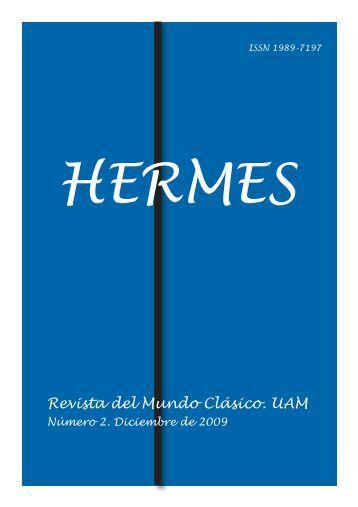 Hermes nº 2 - Facultad de Filosofía y Letras - Universidad Autónoma ...