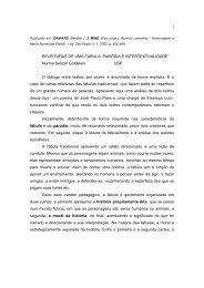 1 RELEITURAS DE UMA FÁBULA: PARÓDIA E ... - fflch - USP