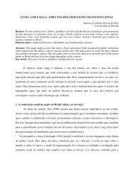 ETNIA, COR E RAÇA: ASPECTOS DISCURSIVOS DO USO ... - fflch