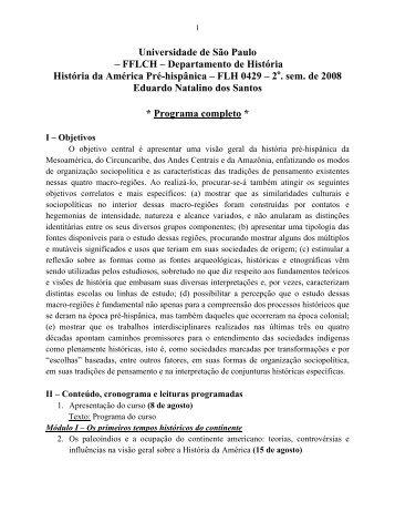 Universidade de São Paulo - fflch - USP