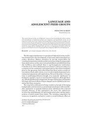 Language in adolescent peer groups.pdf