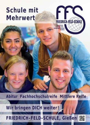 Schule mit Mehrwert - Friedrich-Feld-Schule