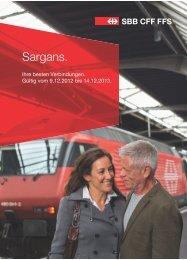 Sargans. - CFF