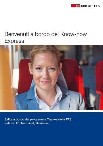 Benvenuti a bordo del Know-how Express. - FFS