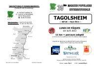TAGOLSHEIM - FFSP