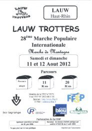 LAUW TROTTERS - FFSP