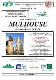 MULHOUSE 68 / Haut-Rhin / FRANCE - FFSP