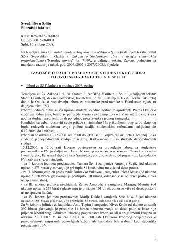 Sveučilište u Splitu Filozofski fakultet - Filozofski fakultet u Splitu