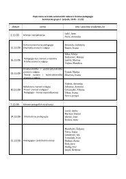 datum tema Ime i prezime studenta-ice 11.11.09. 16.11.09. 23.11.09 ...