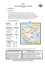 Food and Drink Market in Spain in 2008 - fft-geneva.com