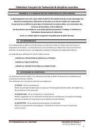 Les fondamentaux de l'arbitrage - fftda