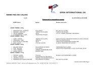 Open de Lille - fftda