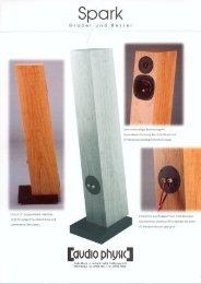 flyer «Größer und Besser - Audio Physic