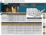 Smooth Masonry Units - Northfield Block