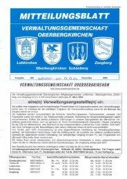 ver wal tungsgemeinschaft oberbergkirchen - Freiwillige Feuerwehr ...