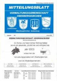 Jahr 2003 - Freiwillige Feuerwehr Zangberg