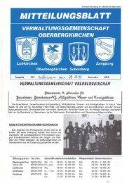 ver wal tungsgemeinschaft oberbergkirch·en - Freiwillige Feuerwehr ...