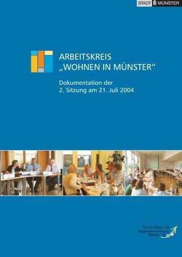 2. Sitzung am 21. Juli 2004 - Stadt Münster