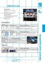 Produktinformation DBS 975 LED