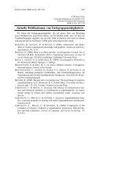 Aktuelle Publikationen von Fachgruppenmitgliedern