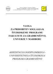 vloga za pridobitev soglasja k študijskemu programu fakultete