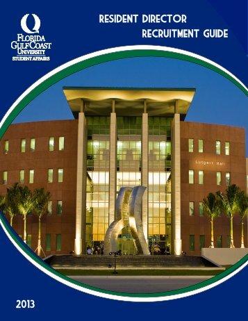 View as a pdf - Florida Gulf Coast University