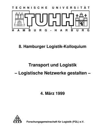 Transport und Logistik − Logistische Netzwerke gestalten − - FGLnet