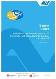 Endbericht Ge!Mit öffentlich 30102012.pdf - Fonds Gesundes ...