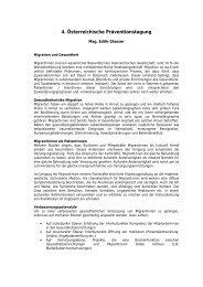 Abstract - Mag. Edith Glanzer - Fonds Gesundes Österreich