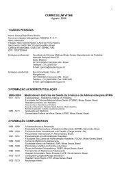Currículo - Fundação Guimarães Rosa