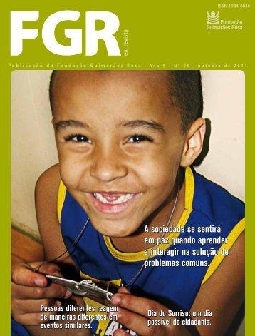 6ª Edição da FGR em Revista - Fundação Guimarães Rosa